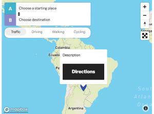 Marker Directions | WP Mapbox GL JS Maps